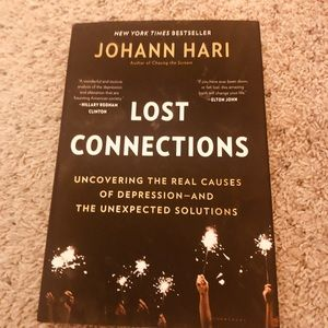 Lost connections  by JOHANN HARI BOOK